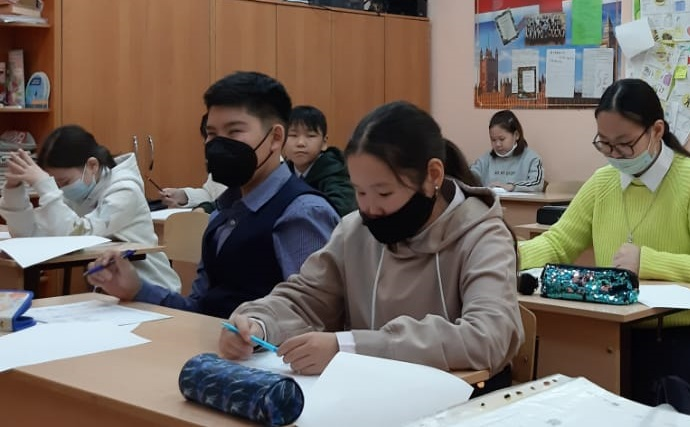 В конкурсе приняли участие 20 учащихся 5-х классов и 21 учащихся 6-х классов.